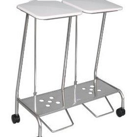 Linen Trolley | Soiled Double SLT 353SS