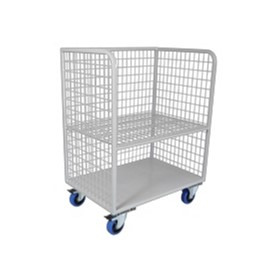 Linen Shelf Trolley | Bulk Flip Up | BDT 102