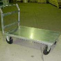 Galvanised Trolley | Large Single Deck | TS/120