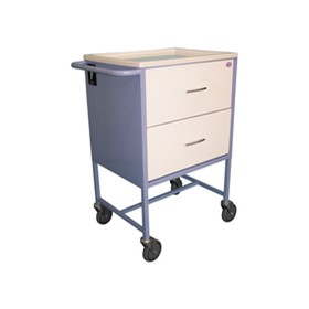 Webster Cart 2 Drawer | MC723W | Medication Trolleys