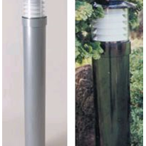Exterior Bollard Lighting | Saratoga Louvred IP55