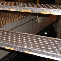 Anti-Slip Stair Tread Nosing | Galvanised | Lion Plate