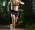 Wearable wireless sensors help joggers record their exercise and share results with friends.