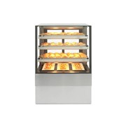 Freestanding Heated Square Food Display