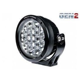Great White 220mm LED Driving Lights