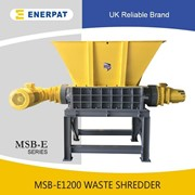 Scrap Metal Double Shaft Shredder | MSB-E1200 | Two Shaft Shredder