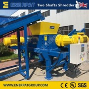 Steel Sheet Double Shaft Shredder | Metal Two Shaft Shredder
