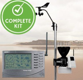 Farm Weather Station Kit including Vantage Pro 2 and Internet Software