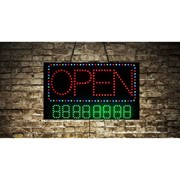 Animated Open Store LED Sign with Phone Number