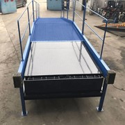 Mobile Steel Dock Ramp / Yard Ramp | Leveller-Series