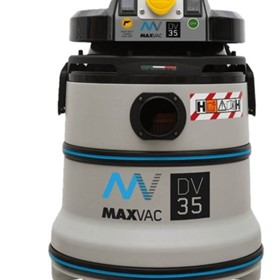 MaxVac DV35 H Class Certified Vacuum with Filter Cleaning System