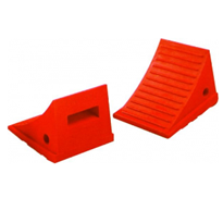 Rubber Wheel Chock for Cars, Utes and Small 4WDs