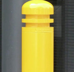 Powder-coated Aluminium Bollard Cap