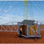 Australian Radio Towers | Skid Mounted Masts | RDU-S 10 - 30m