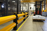 Safety Barrier | A-SAFE | Traffic Double-Rail iFlex Barrier