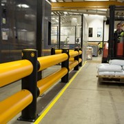 Safety Barrier - A-SAFE - Traffic Double-Rail iFlex Barrier