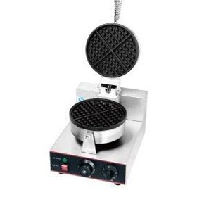 Electric Single Round Plate | Waffle Maker