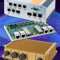 Rugged 10-Port Managed 10Gigabit Switch Solution | MAXBES Series
