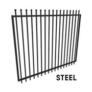 Extra Wide Security Gate - 2.45m Wide x 2.1m High
