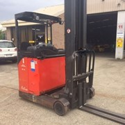 Used Electric High Reach Forklift 2006 | Linde R14