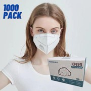 Disposable KN95 Face Mask (Min order 10 boxes of 100 masks)