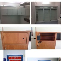 Fixed Medical Storage Cabinets | Custom Fitouts and Designs