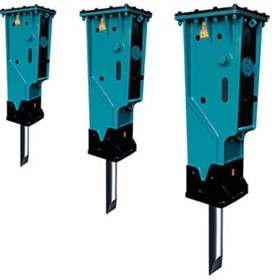 Hydraulic Breakers Attachment Hire
