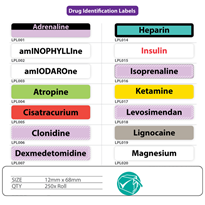 Drug Identification Medical Labels