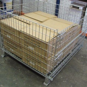 Wire Pallet Cage