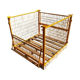 Half Drop Side Pallet Cages