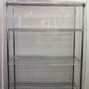 PVC Wire Shelving Dust Cover