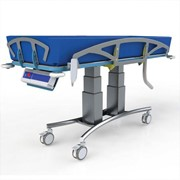 Electric Mobile Shower Trolley