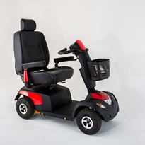 Heavy Duty 10kph 4 Wheel Mobility Scooter | Invacare Comet ULTRA