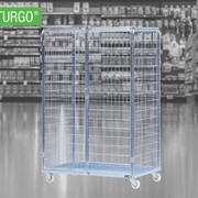 STURGO® Security Single Roll Cage Laundry Trolley | 18300036