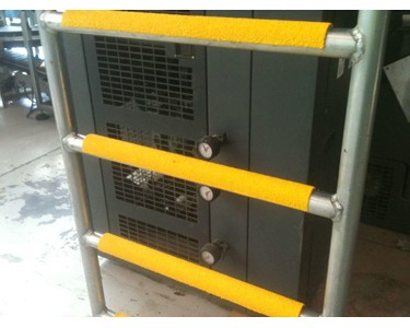 Safety Yellow Ladder Rung Covers