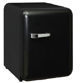 Schmick Mini Retro Style Black Bar Fridge
