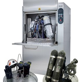 Decontamination washing machine