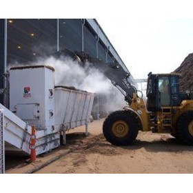 Dry Fog Dust Suppression - Dry Fog for Surge Hopper & FEL Hopper Dust