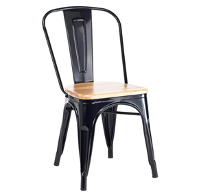 Powdercoated Metal Dining Chair | Harbour TS