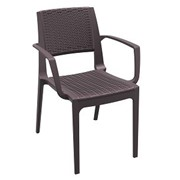 Capri Armchair | Stackable Indoor/Outdoor Dining Chair