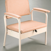 Alphacare Bedside Commode Wide Chairs - B1062WA