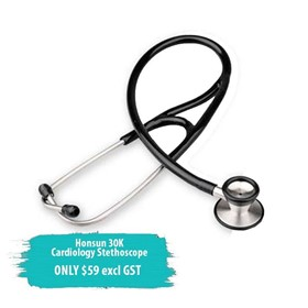 Stainless Steel Cardiology Stethoscope