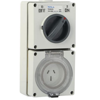 250V Switched Outlet IP66