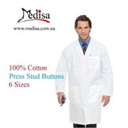 Pure Cotton Lab Coat Man Medical Doctor