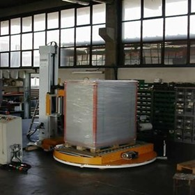 Pallet Wrapping Machine Minipack Automatic Rollers