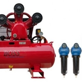 BOSS - 35CFM/ 7.5HP Compressor Clean Air Package - BC35-160LK