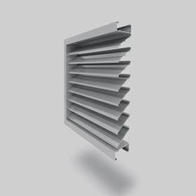 Airocle Fixed Louvres B Series