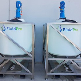 Fluidpro Top Entry Tank Mixers