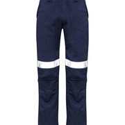 SYZMIK FIRE ARMOUR Mens Inherent Fire Retardant Drill Pant TAPED