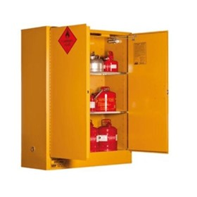 350L Flammable Liquid Storage Cabinet – 2 Door, 3 Shelf